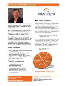 Clear Horizon Leadership Fact Sheet