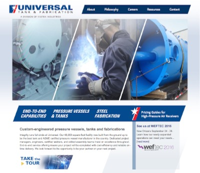 Universal Tank and Fabrication | Clear Horizon Leadership